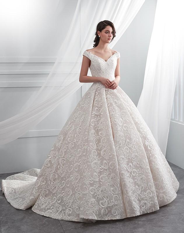 Vestidos de noiva modernos 2019